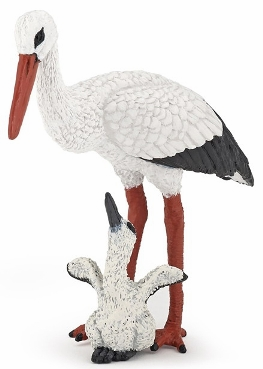 Papo - Stork and Baby Stork
