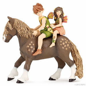 Papo - Tales and Legends - Elves Children & Pony