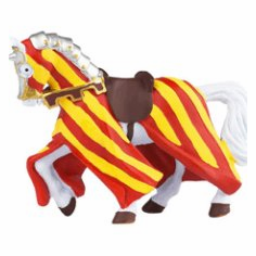 Papo - Tournament Horse - Red