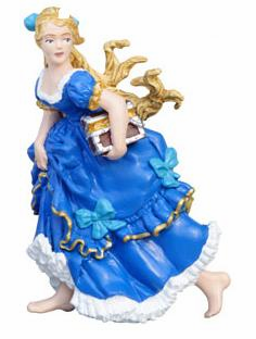 Papo - Treasure Chest Princess - Blue