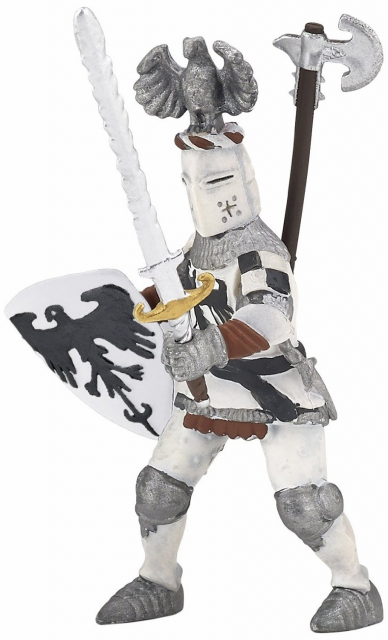 Papo - White Crested Knight