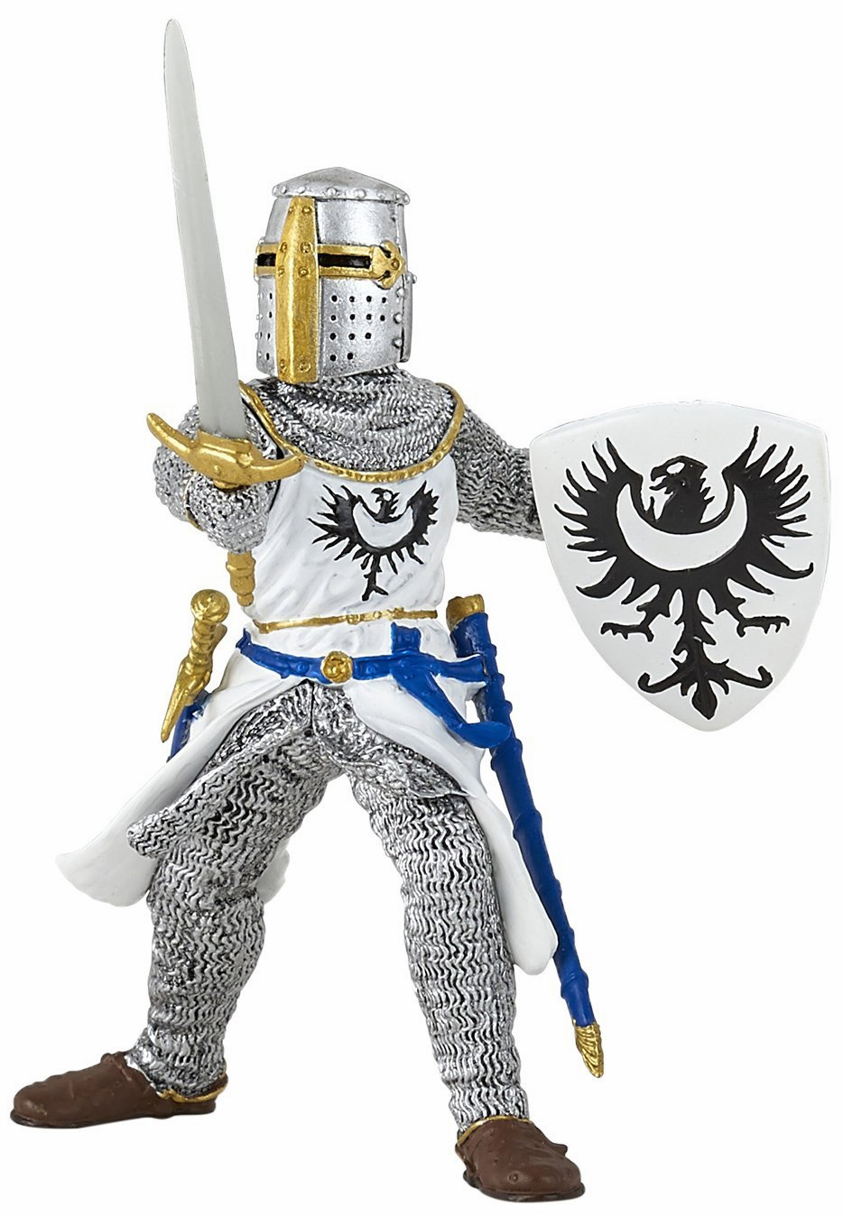 Papo - White Knight with Sword