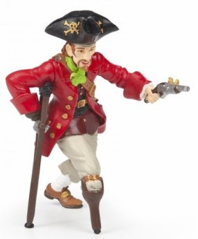 Papo - Wooden Leg Pirate With Gun