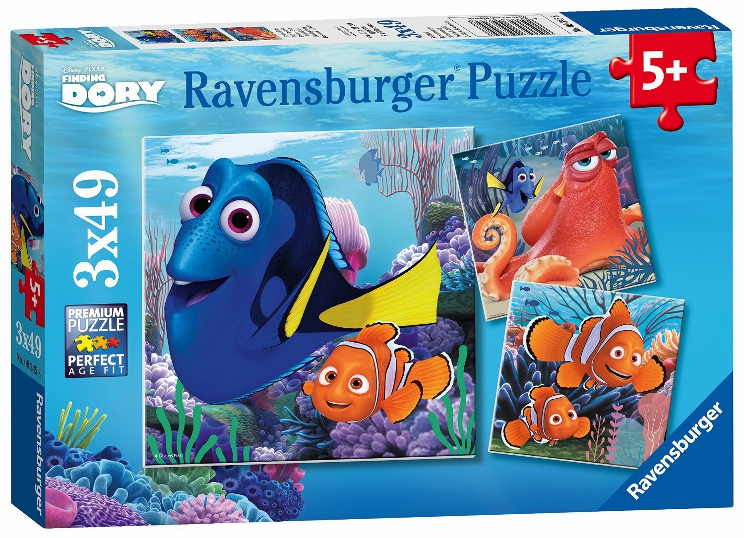Ravensburger Disney Finding Dory - 49 Pieces - Set of 3
