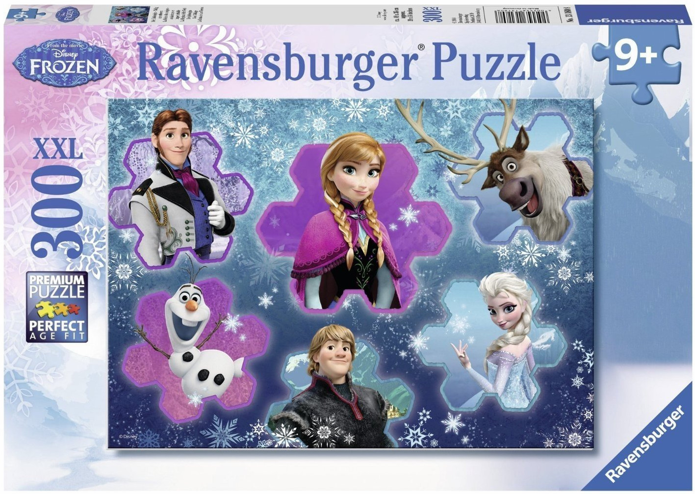Ravensburger Frozen - Cool Character Collage Puzzle (300-Piece)