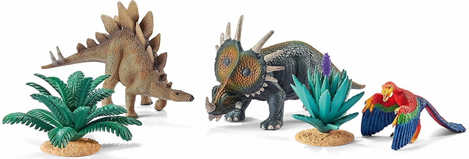 Schleich - At Home With The Herbivores Play Set