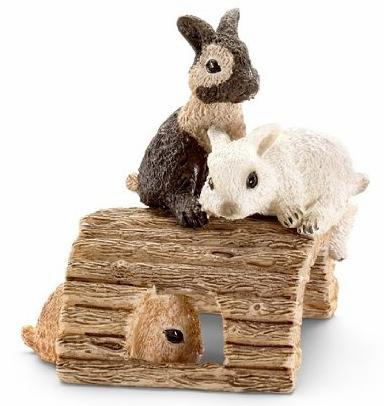 Schleich - Baby Rabbits playing