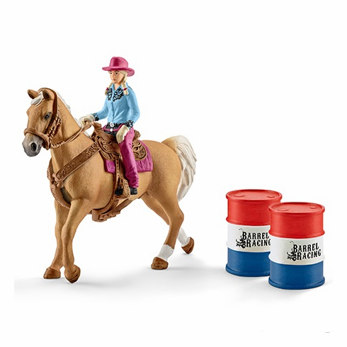 Schleich - Barrel Racing w/ Cowgirl