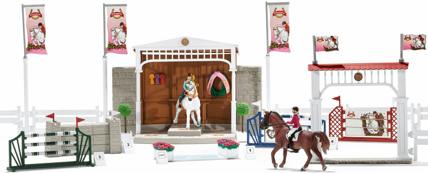 Schleich - Big Horse Show With Riders & Horses