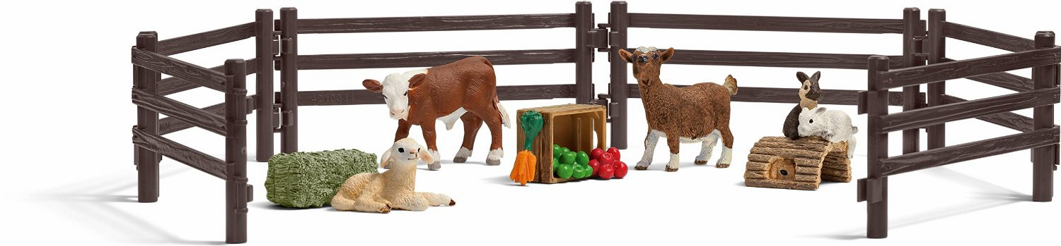 Schleich - Children's Zoo Playset
