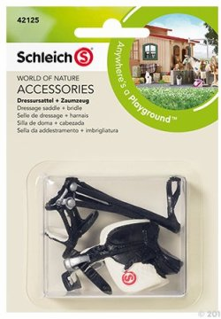 Schleich - Dressing Saddle and Bridle