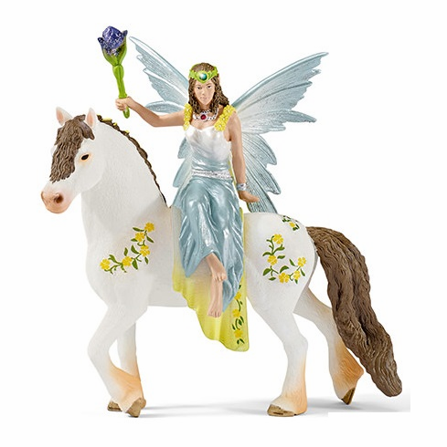 Schleich - Eyela in Festive Clothes - Riding