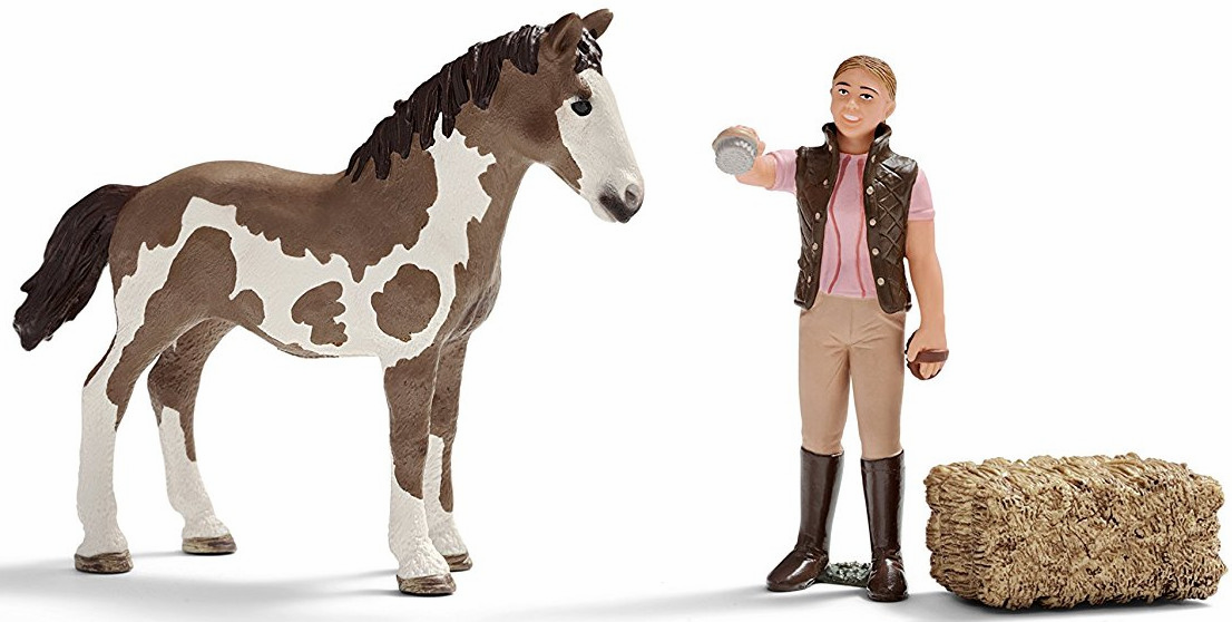 Schleich - Foal Cleaning Set