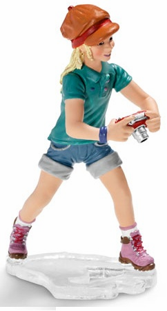 Schleich - Girl w/ Camera