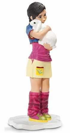 Schleich - Girl with Rabbit