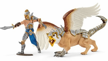 Schleich - Griffin Warrior w/ Griffin