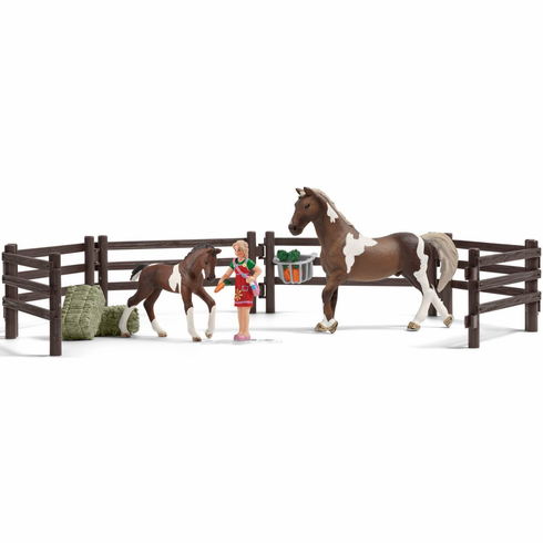 Schleich - Horse Feeding Play Set