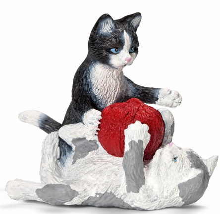 Schleich - Kittens w/ Ball of Yarn