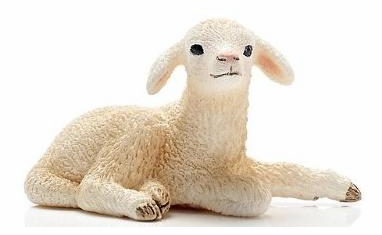 Schleich - Lamb Lying