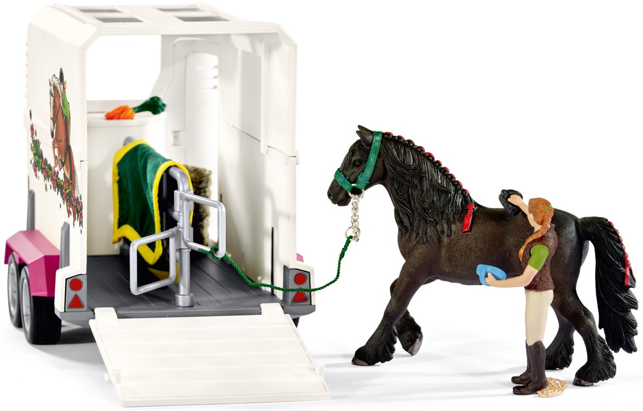 Schleich Pick Up W Horse Trailer By Schleich 42346