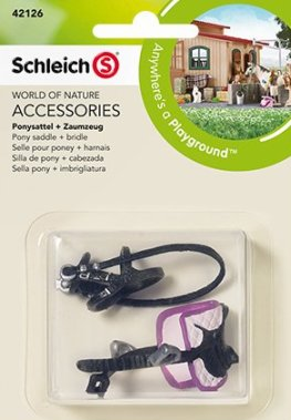Schleich - Pony Saddle and Bridle