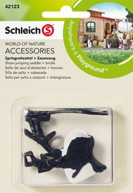 Schleich - Show Jumping Saddle and Bridle