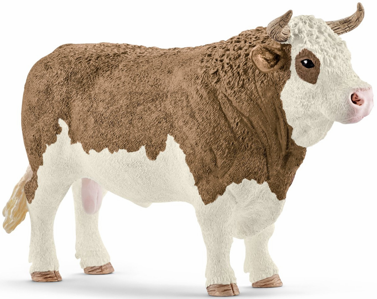 Schleich - Simmental Bull - New