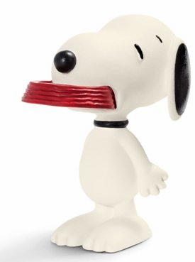 Schleich - Snoopy with His Supper Dish