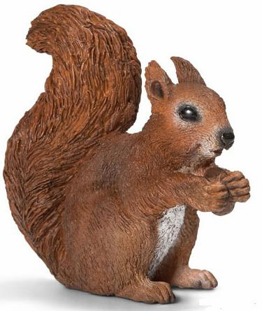 Schleich - Squirrel - Eating
