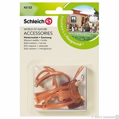 Schleich - Western Saddle and Bridle