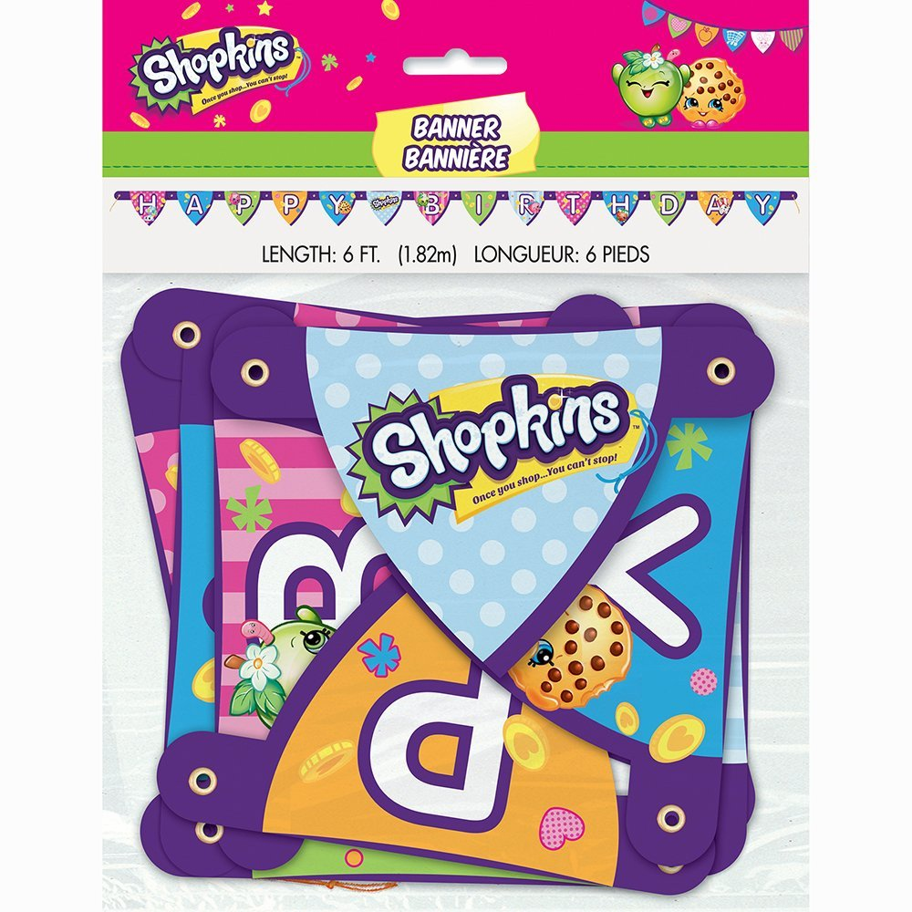 Shopkins - Happy Birthday Banner