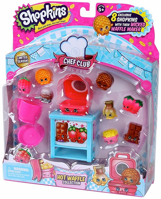Shopkins Chef Club - Hot Waffle Collection