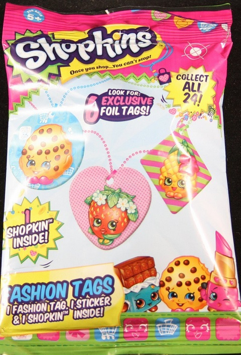 Shopkins - Fashion Tags - Mystery Pack