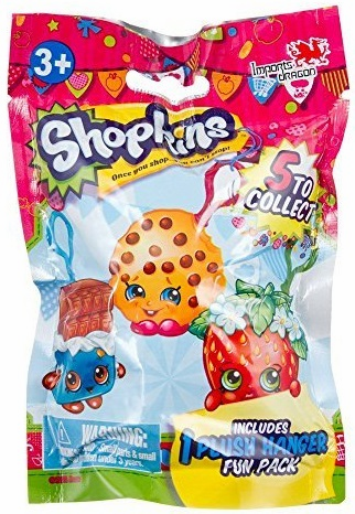 Shopkins - Plush Hanger - Mystery Pack