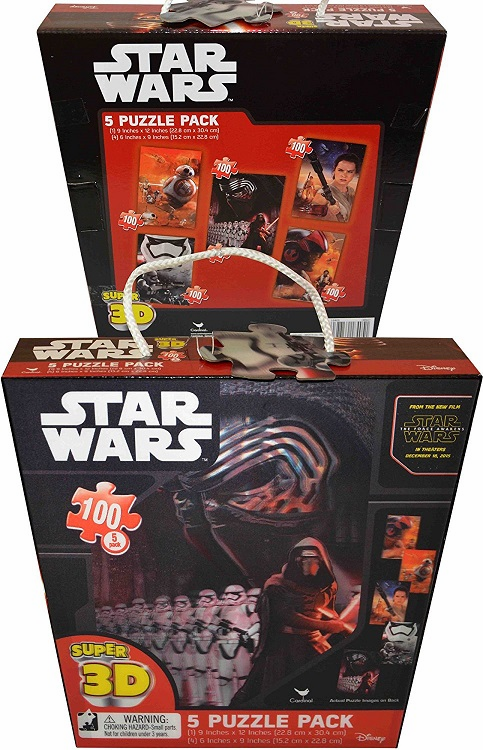 Star Wars - 3D Puzzles - 5 Pack