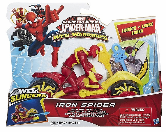 Web Warriors - Iron Spider with Web Cycle