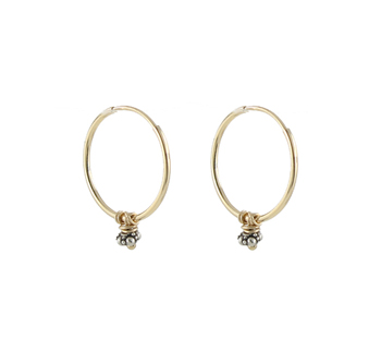 14k Gold Petite Hoop Earrings