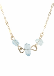 Aqua Cascade Necklace