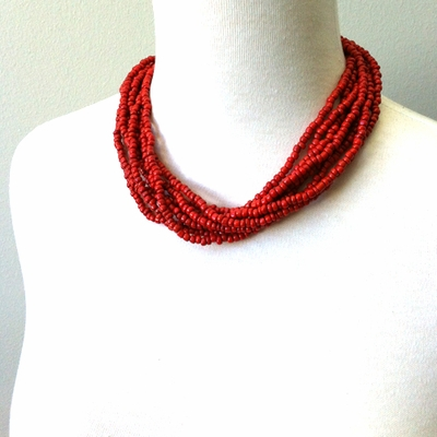 Big Beaded Necklace