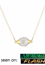 Big Pearl Drop Necklace
