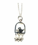 Bird on a Branch Necklace -- NA