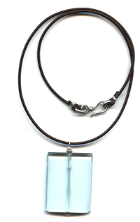 Blue Quartz Necklace -- NA