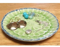Botan Flower Jewelry Dish
