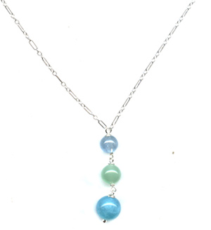 Calm Blues Necklace