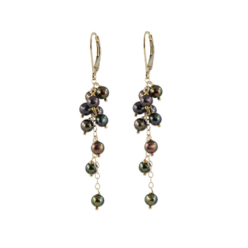 Caviar Pearl Earrings