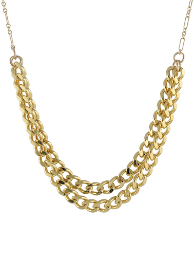 Chunky Curb Chain Necklace