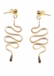 Cleo Serpent Earrings