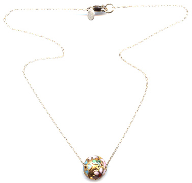 Cloisonne Bead Necklace