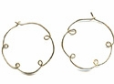 Cloud Hoop Earrings