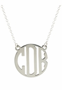 Deco Monogram Necklace